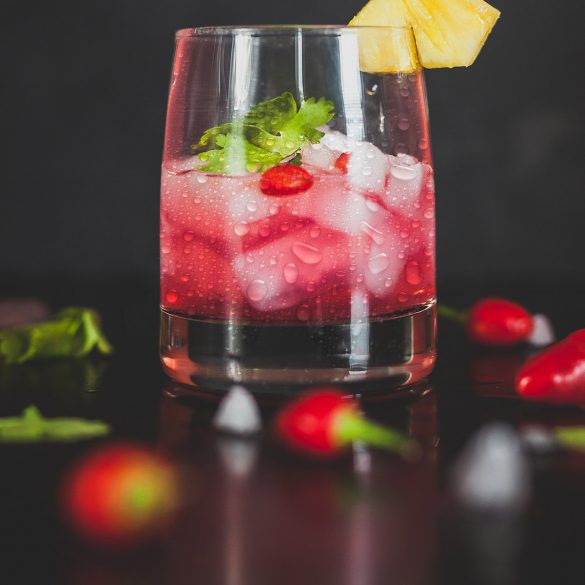 Rose Ice Cocktail Recipe