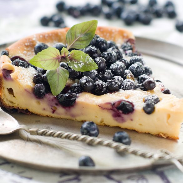 Classic Blueberry Cheesecake Recipe