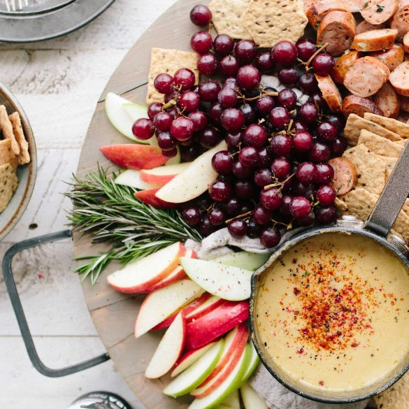 Fruit and Cheese Platter Recipe