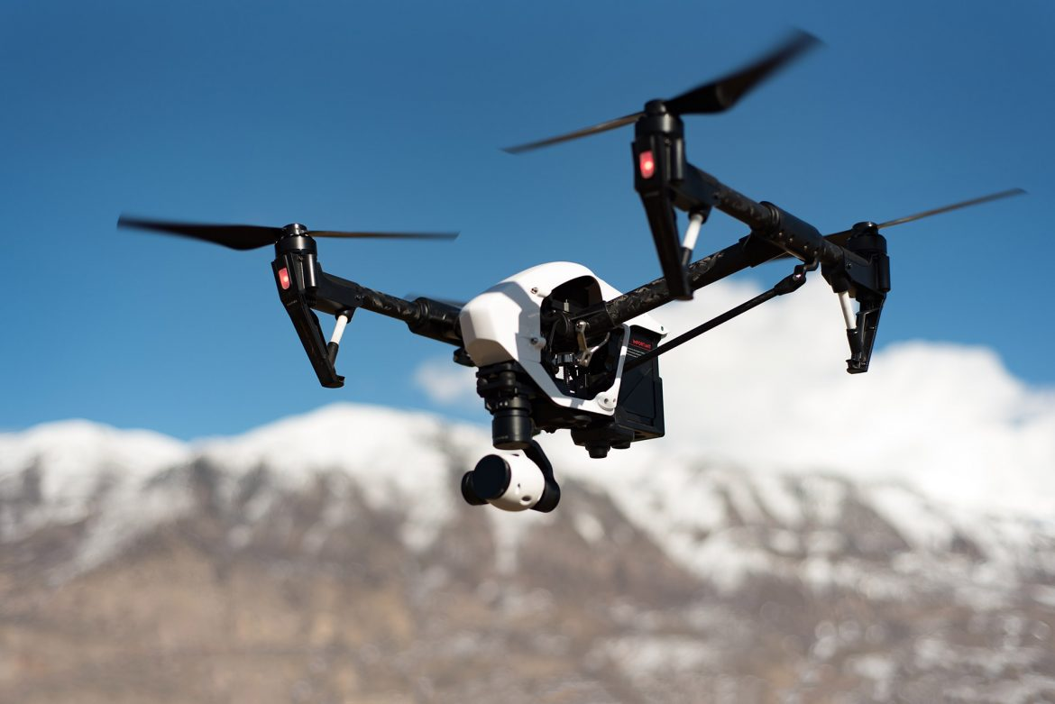 The best way to stop a rogue drone is with another drone